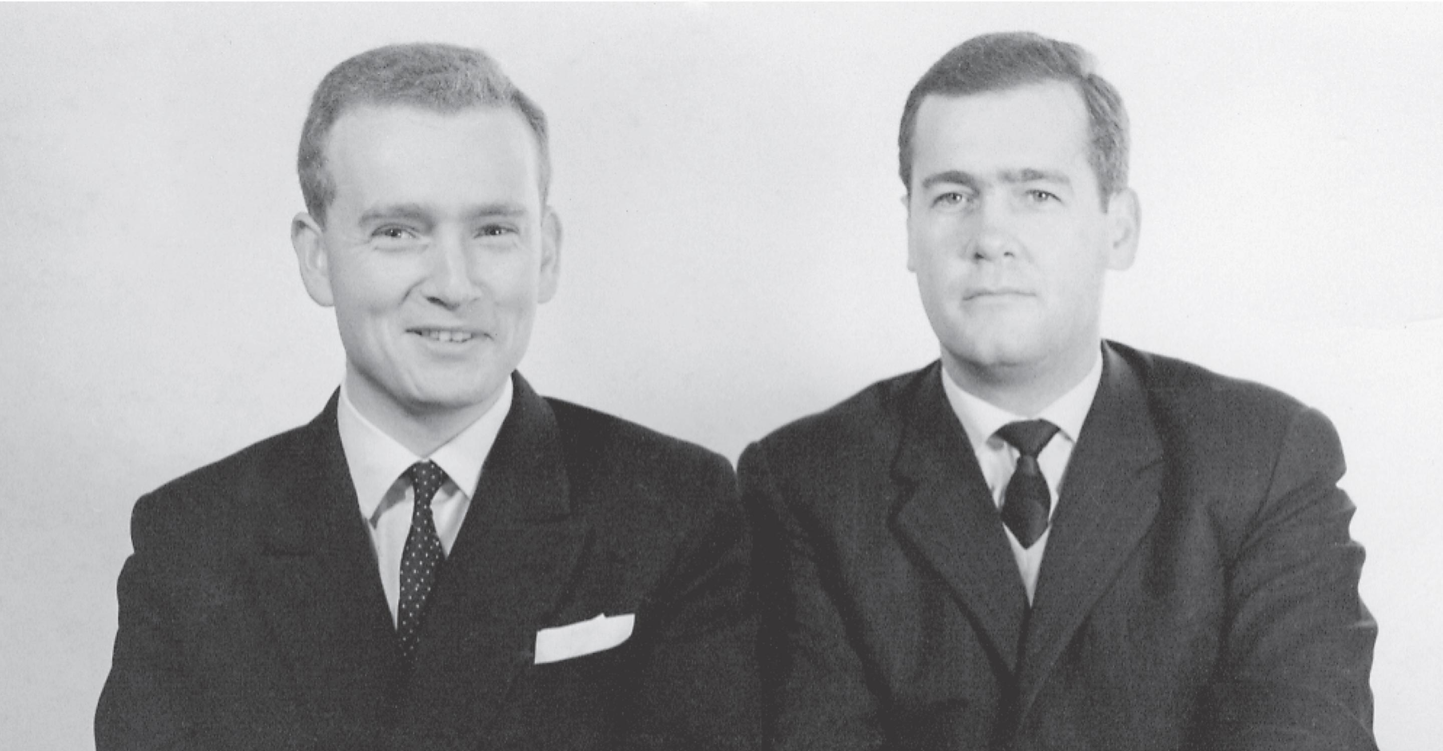 Photo of Manfred and Klaus Hammes