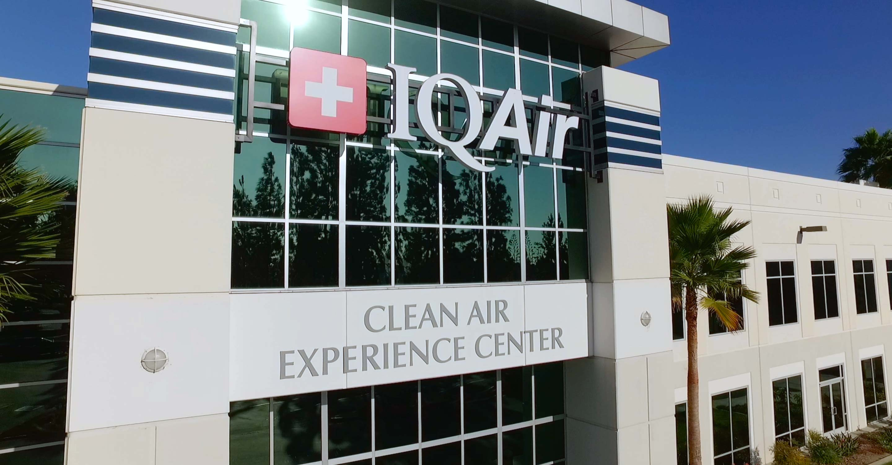 Front exterior photo of IQAir experience center.