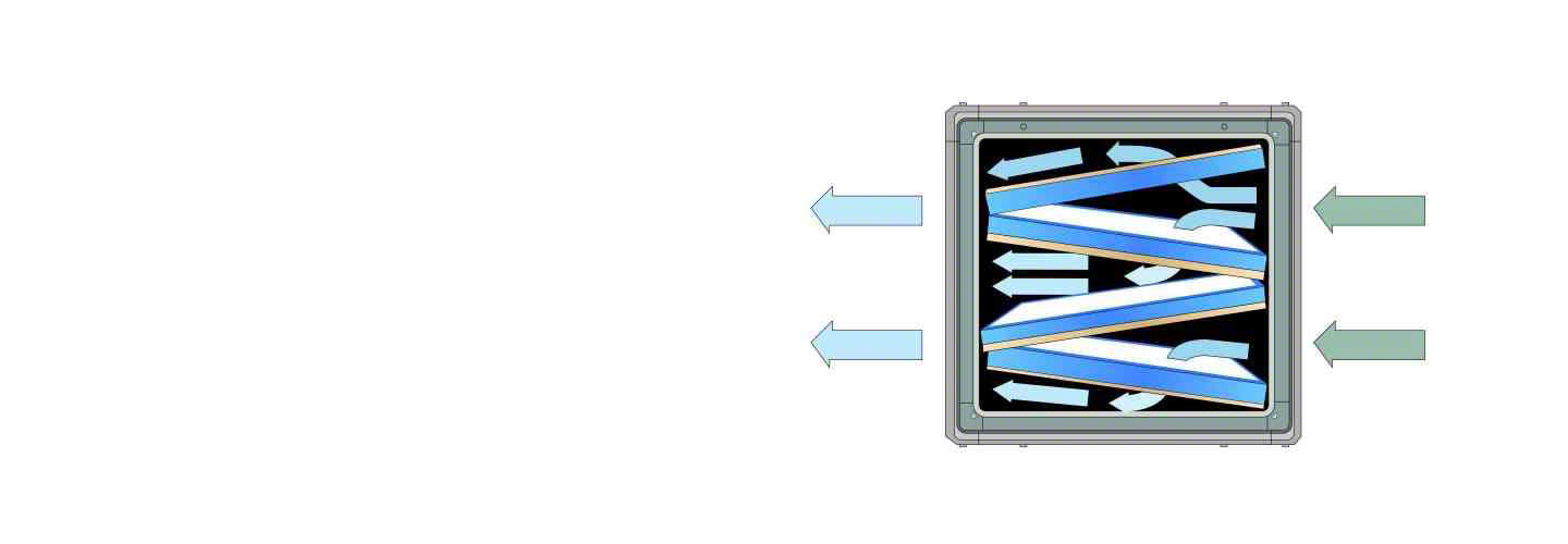 P16 Airflow and filtration diagram