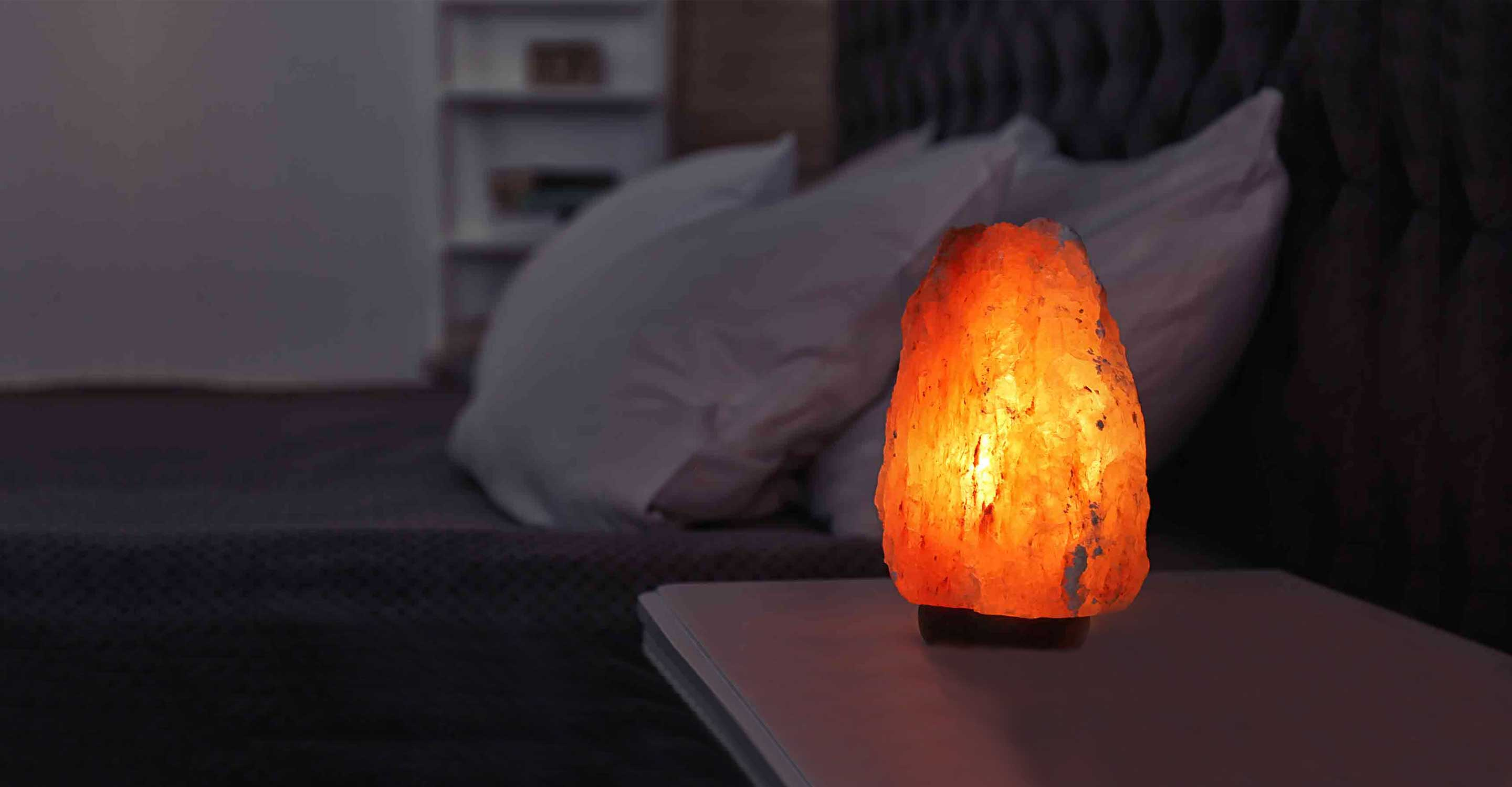 Why are Himalayan salt lamps bad for air quality?