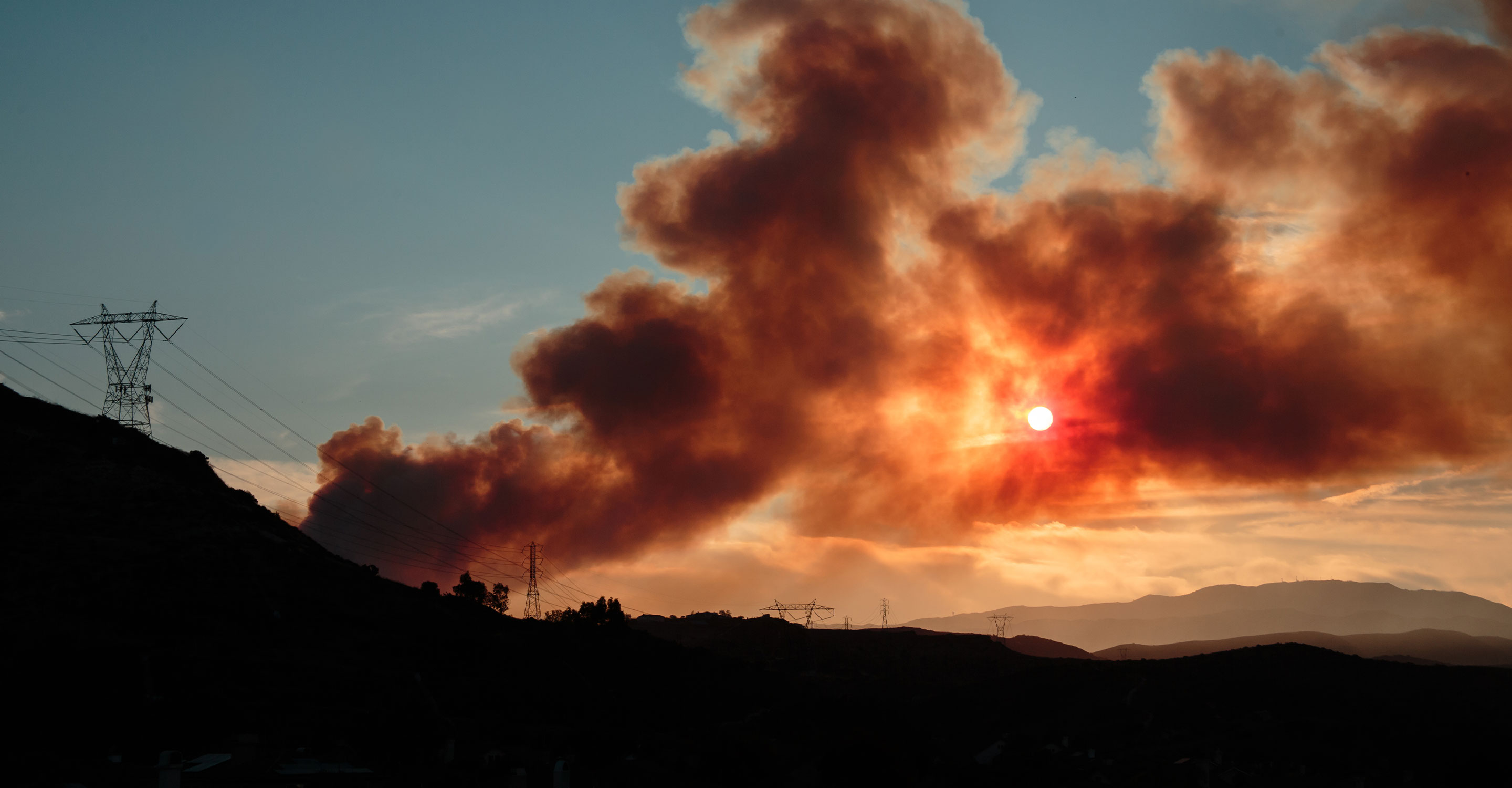 Fall 2019 California fires: The Getty, Kincade, and Grizzly Island Fires