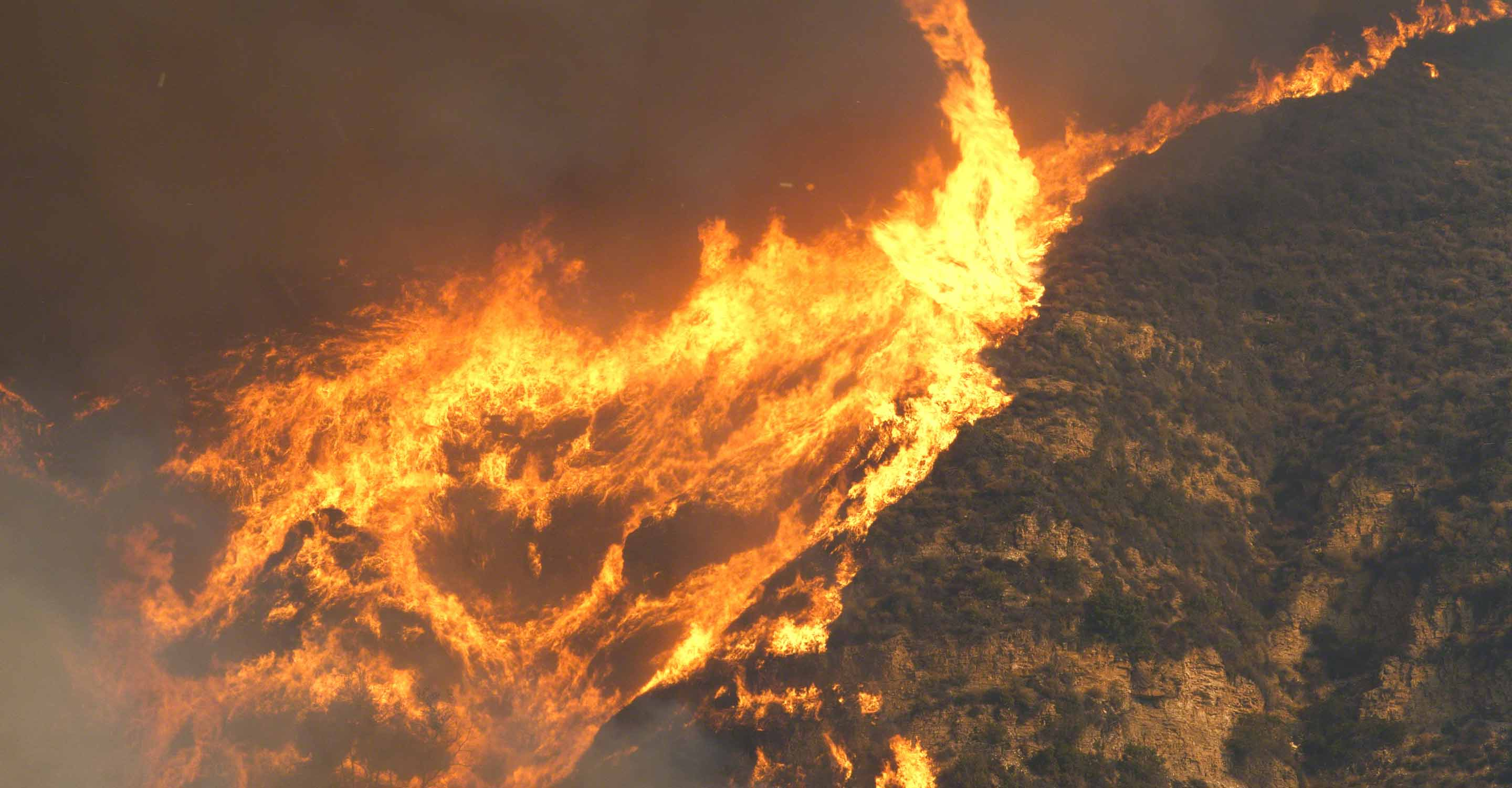 Largest fire in California history threatens air quality