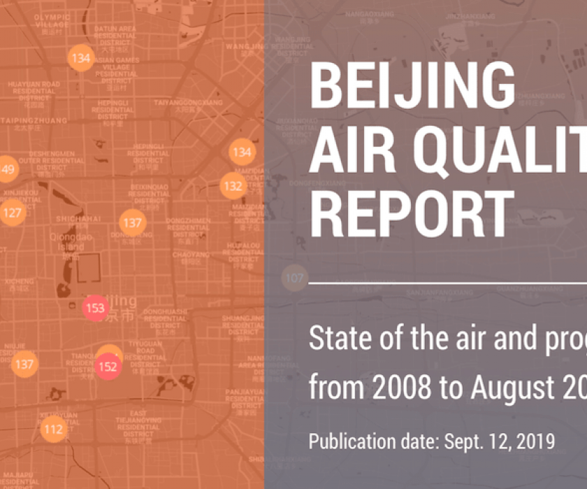 Beijing Air Quality Report
