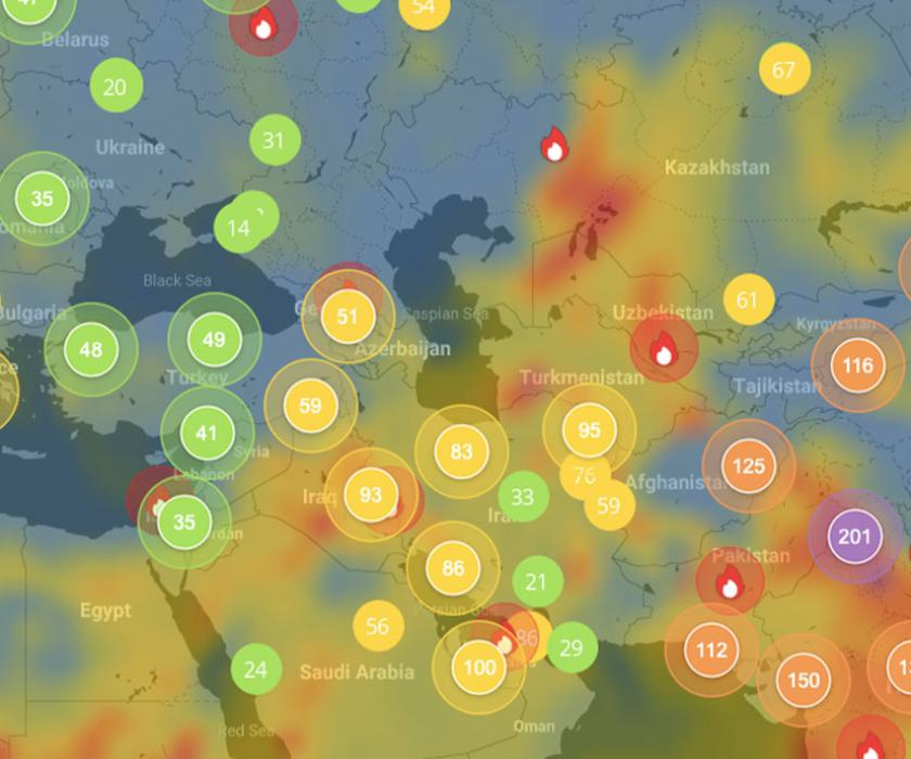 UN Air Quality Data