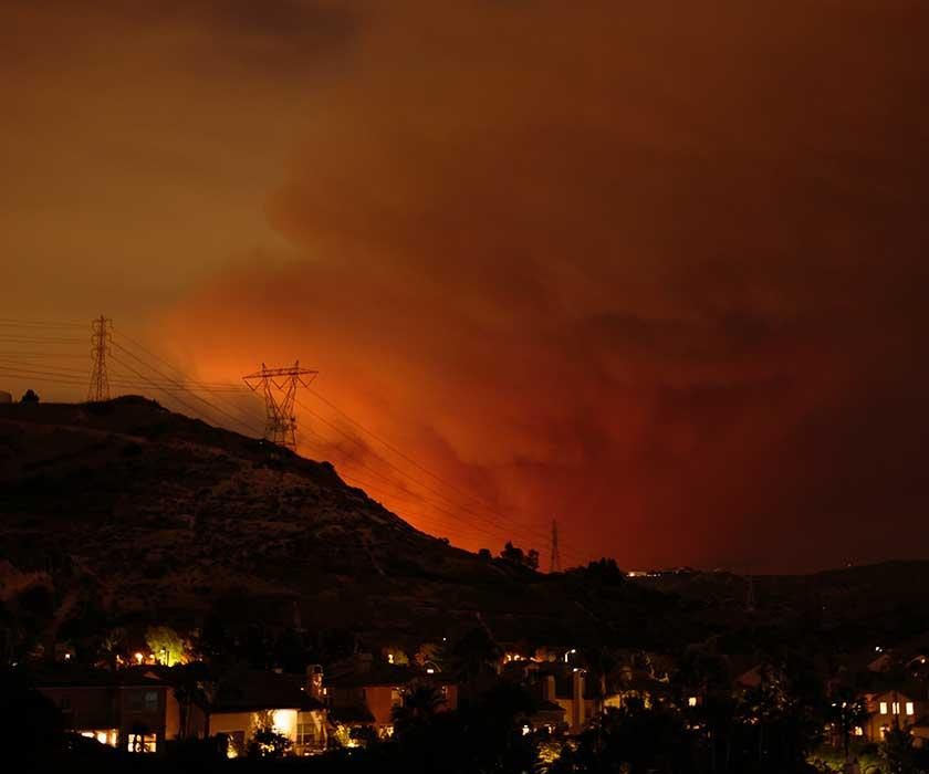 Bay Area fires